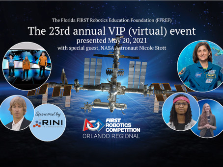 2021 FIRST Robotics Orlando Regional VIP Virtual Event