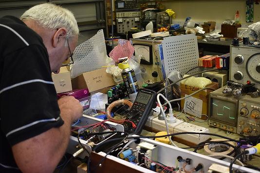 Measuring a valve amp