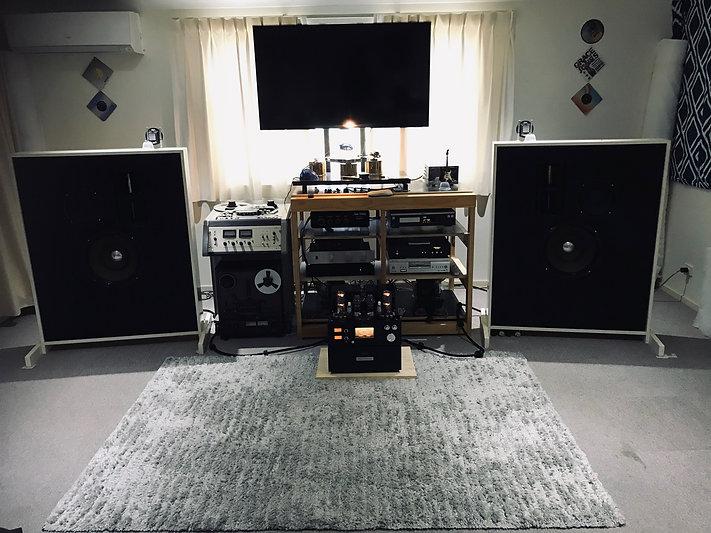 Line magentic in falls audio system