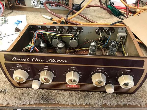Valve amp for repair