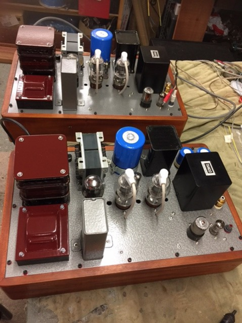 Hurley valve amplifier