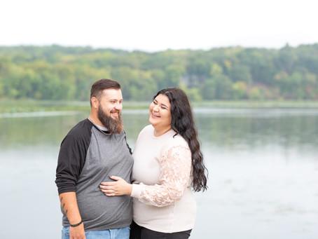 Isabella and Torey at Lake Springfield Park and Boathouse