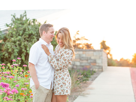 Jennifer and Austin's Engagement Photos at the Japanese Stroll Gardens