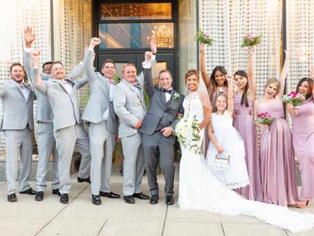 Jennifer and Austin's Wedding at the Savoy Ballroom