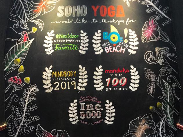 Graphic Design | Soho Yoga