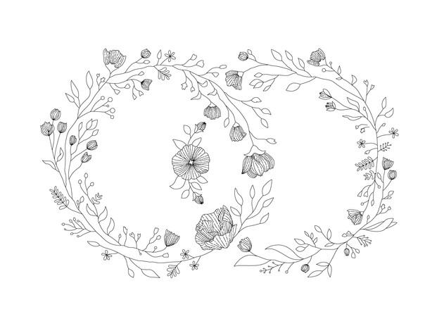 Illustration  |  Floral Tattoo