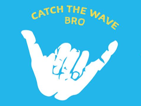 Revere Beach Surfer Sticker