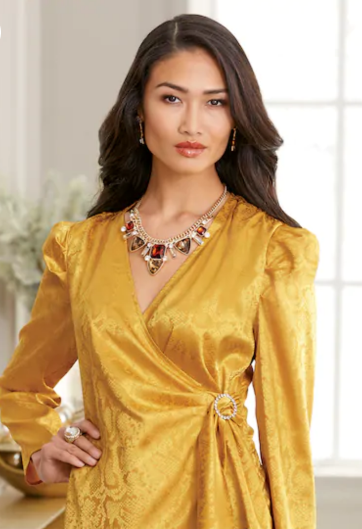Satin Side Ring Top