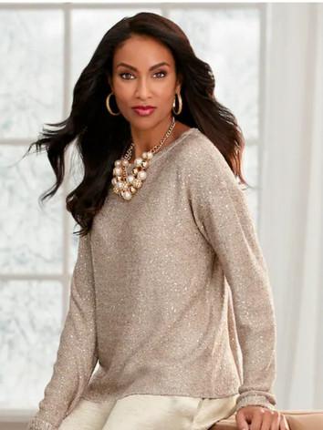 Elia Sequin Sweater