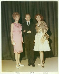Daisy Harriman Lewis (Left), Reed Erickson (Center), Monica (Girlfriend, Right)