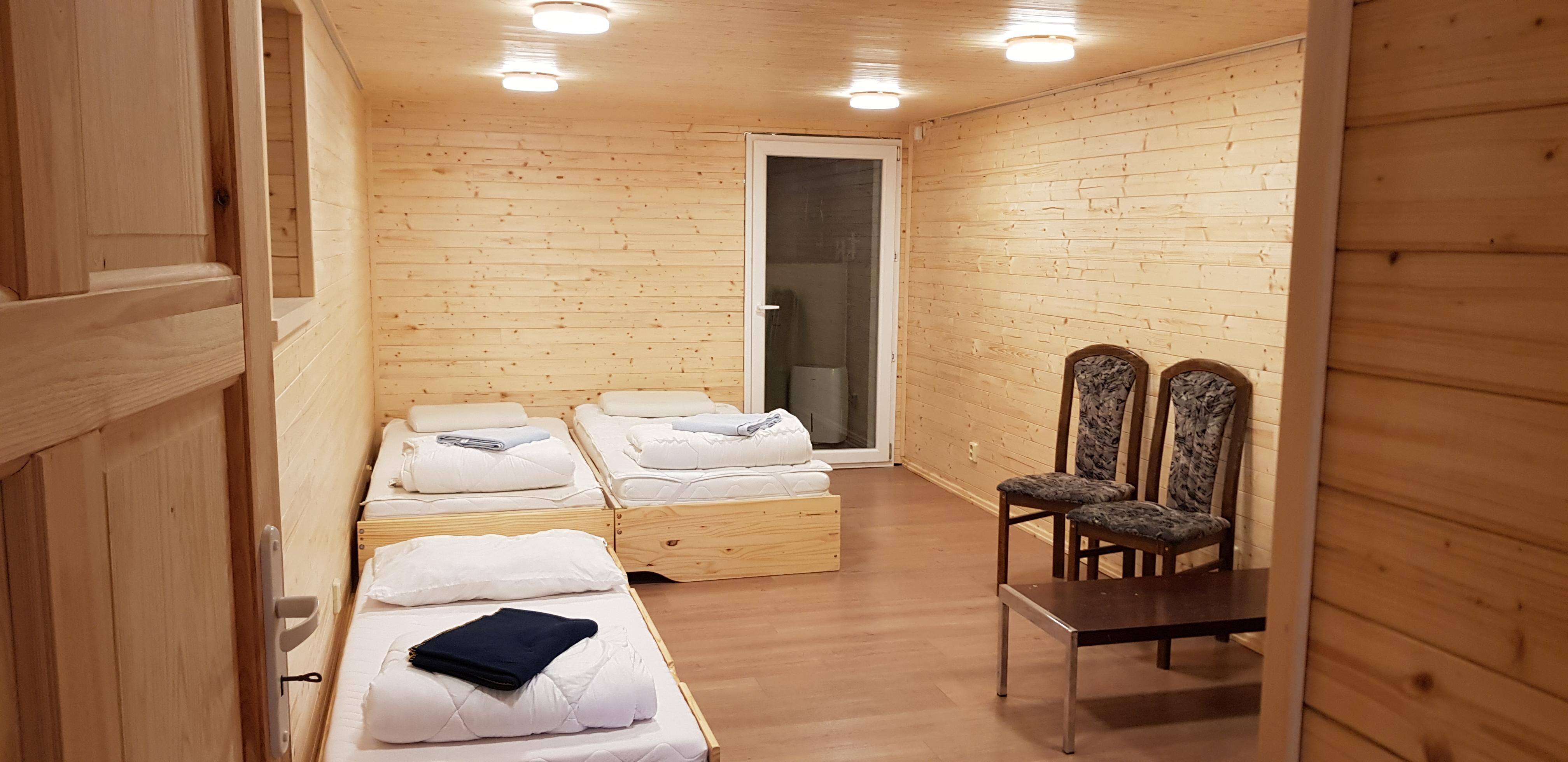 multifunkční místnost u sauny, zde jako