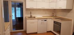 kuchyně, velká indukční plotna, luxusní