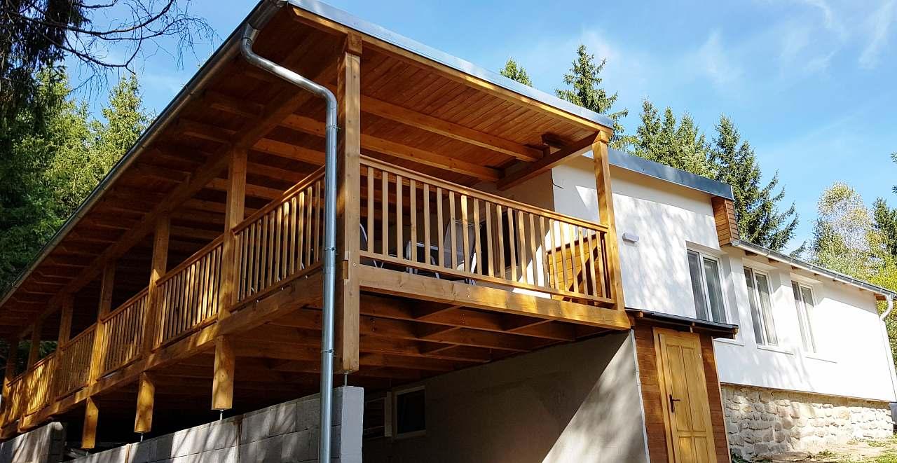 Velkorysá chata s 9 místnostmi a 190 m2