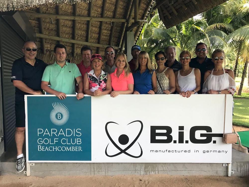 """B.i.G.-CEO Jürgen Dorsch und """"seine"""" B.i.G.-Familie auf Mauritius"""