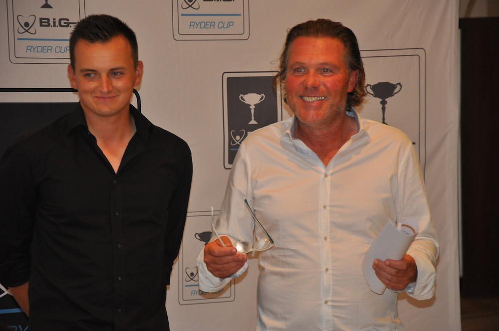 Die Team-Captains Jan Gerka (li. Golf de Andratx) und Christoph Karg (GC Reichertshausen)