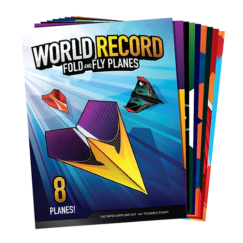 World Record Fold and Fly Planes Book