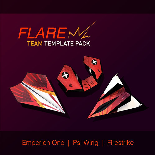 Flare Team Template Pack