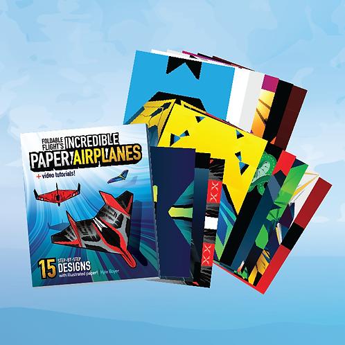 Book + Bonus Templates — Foldable Flight's Incredible Paper Airplanes