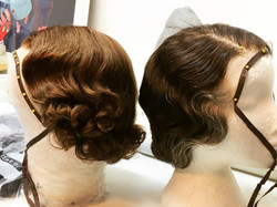 1930's wig styling
