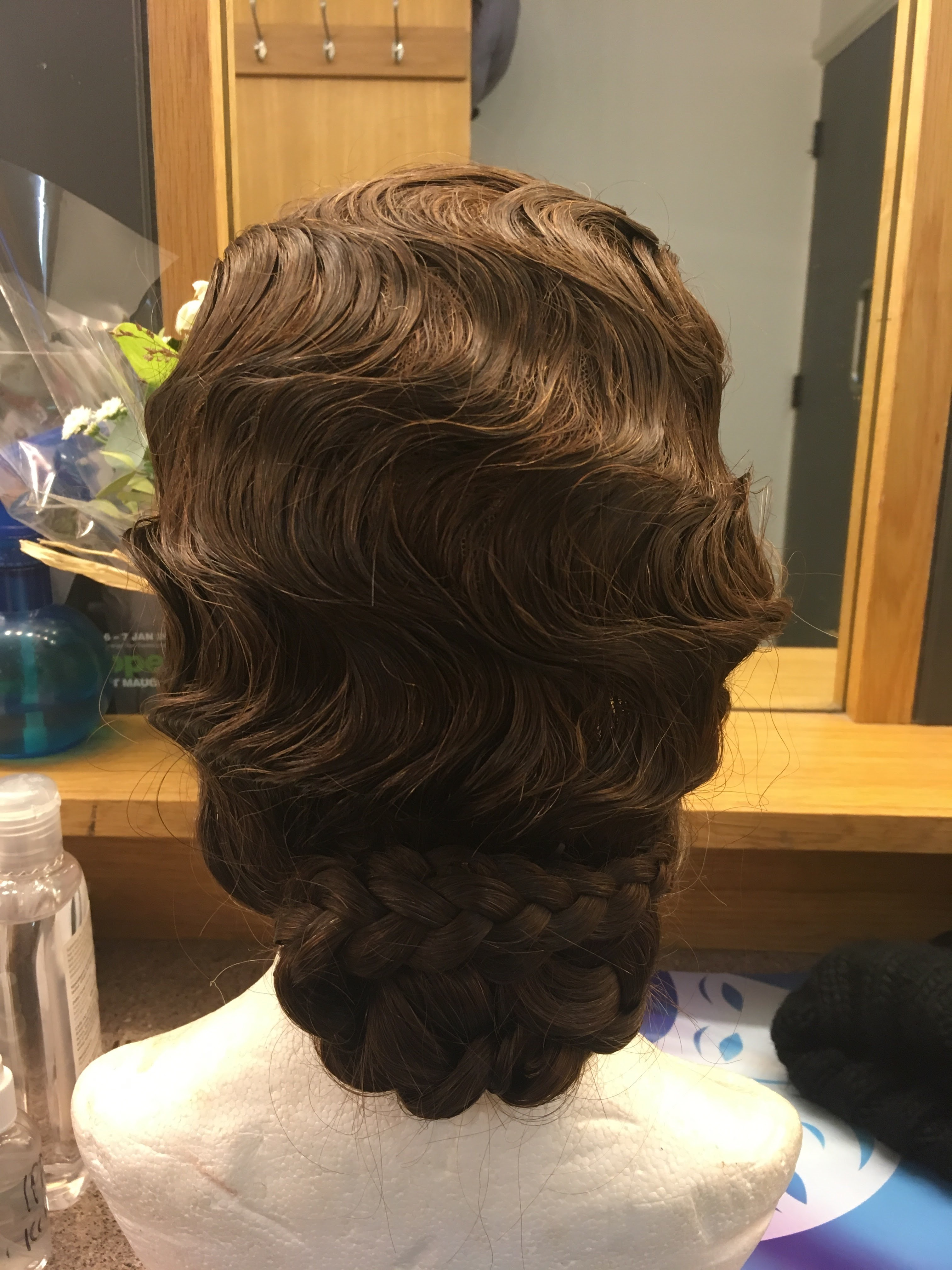 1920's finger waves