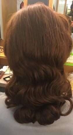 Wig. Retro waves