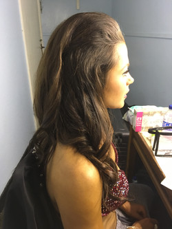 Big beauty pagent hair