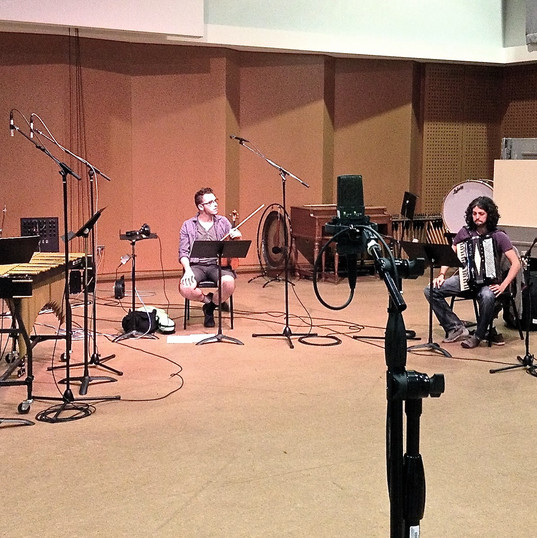 Eventide recording in the studio