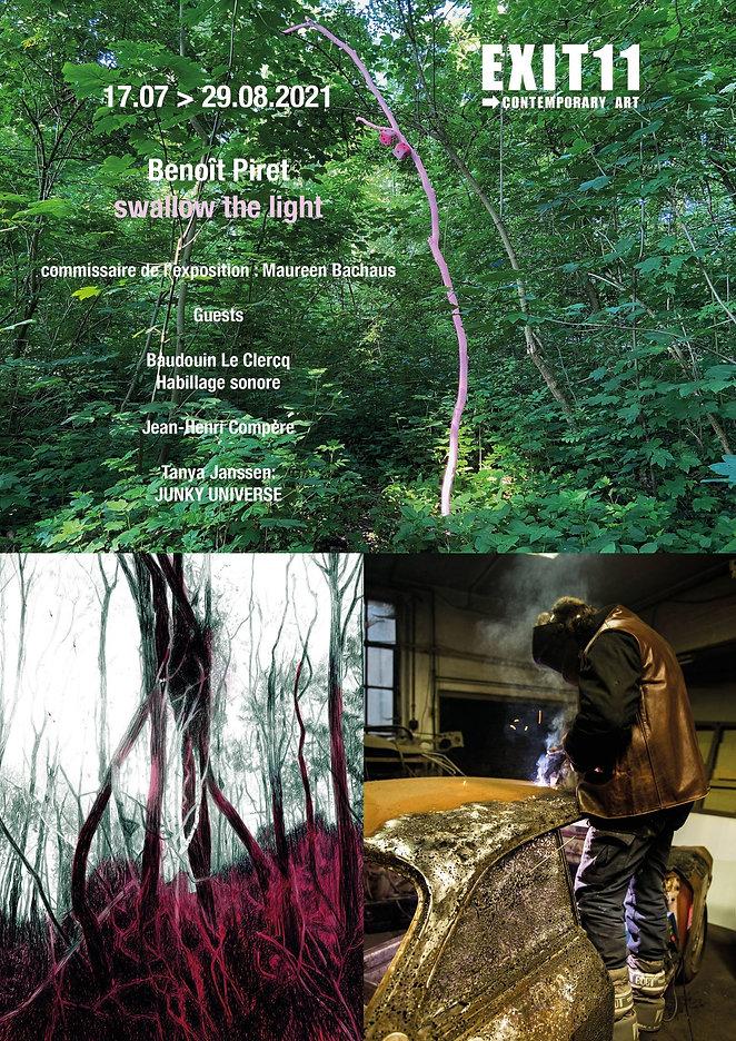 Benoit Piret expo Swallow the light