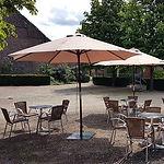 Château de Petit-Leez terrasse cafétaria