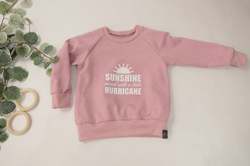 """Sweater Altrosa """"Sunshine mixed with a little Hurricane"""""""