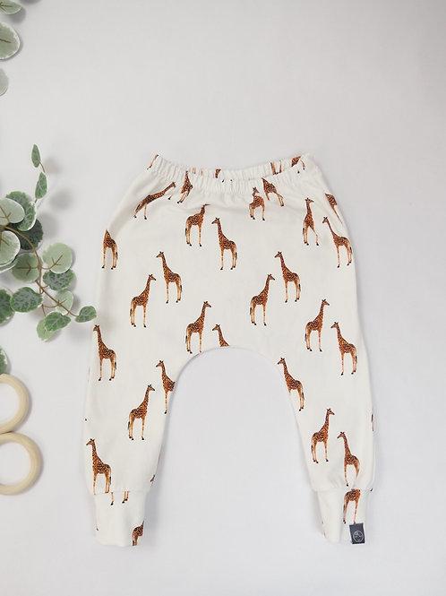 Slim Harem Pants Giraffe