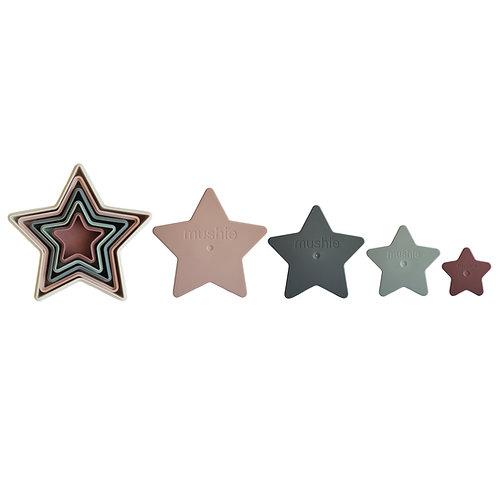 "Mushie Stapelspielzeug ""Nesting Stars"""