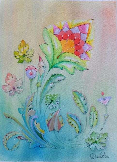 Color Flower Seven