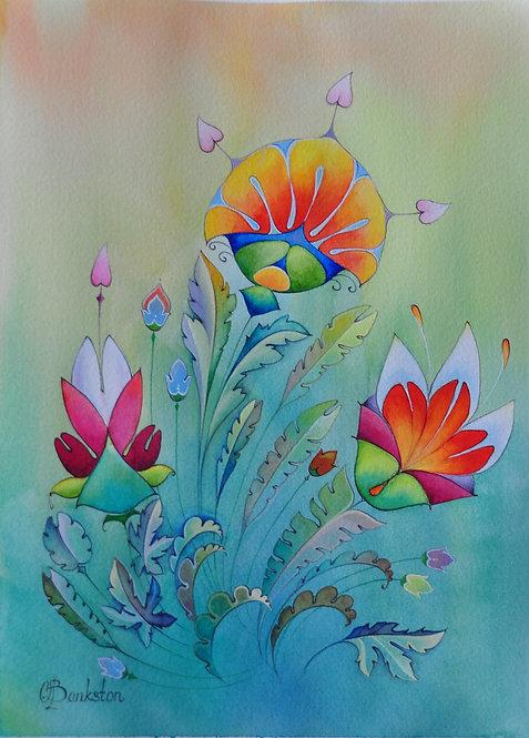 Color Flower Six