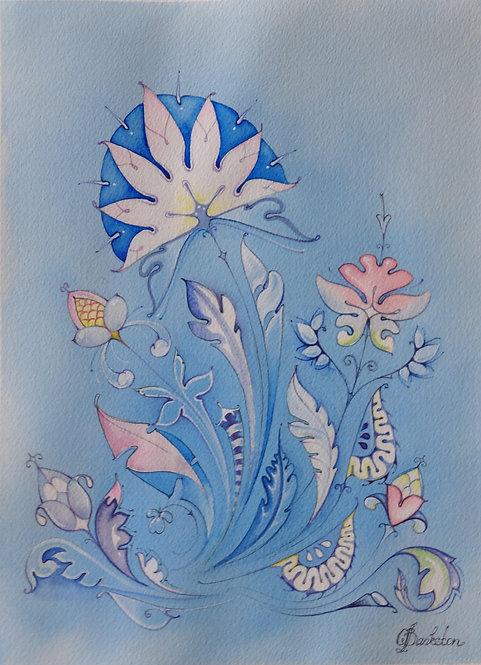 Color Flower Five