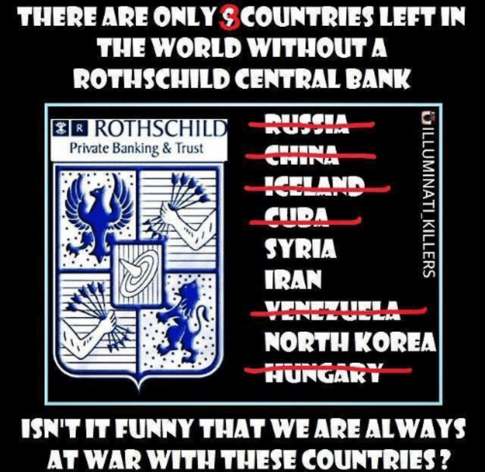Every Evil Deception And War In This World Originates In Great Britain With The Rothschild FAKE Jews