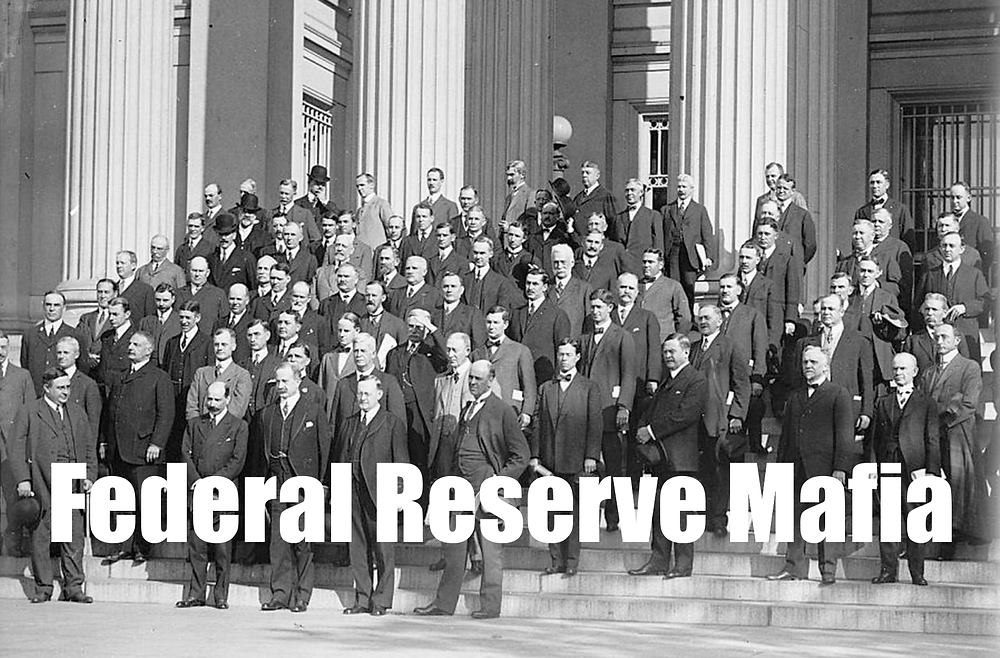 Allow The Will Of God To Be Done No More Federal Reserve Mafia Destroying America 13 17