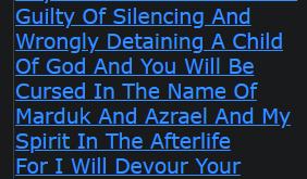 Any One Who Arrests Me Is Guilty Of Silencing And Wrongly Detaining A Child Of God And You Will Be