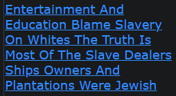 Entertainment And Education Blame Slavery On Whites The Truth Is Most Of The Slave Dealers Ships Owners And Plantations Were Jewish