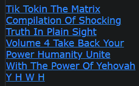 Tik Tokin The Matrix - Compilation Of SHOCKING TRUTH IN PLAIN SIGHT Volume 4 Take Back Your Power Humanity - Unite With The Power Of Yehovah YHWH