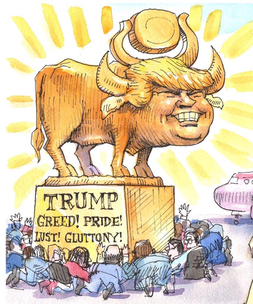 Golden Calf Trump Worship For Dummies
