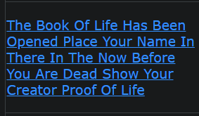 The Book Of Life Has Been Opened Place Your Name In There In The Now Before You Are Dead