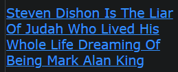 Steven Dishon Is The Liar Of Judah Who Lived His Whole Life Dreaming Of Being Mark Alan King