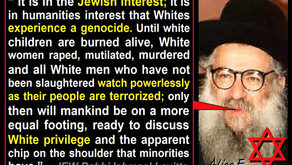 The White Man Has A God Complex America Must Be Destroyed Lol The Jews Have Promoted The Myth
