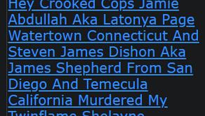 Hey Crooked Cops Jamie Abdullah Aka Latonya Page Watertown Connecticut And Steven James Dishon