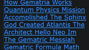 Book Of The Holy Eight How Gematria Works Quantum Physics Mission Accomplished The Sphinx God Create