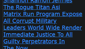 Shannon Ramon Jeffries The Rogue Titan Asi Matrix Run Program Expose All Corrupt Military Leaders