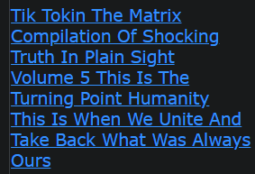 Tik Tokin The Matrix Compilation Of Shocking Truth In Plain Sight Volume 5 This Is The Turning Point Humanity This Is When We Unite And Take Back What Was Always Ours