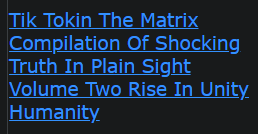 Tik Tokin The Matrix Compilation Of Shocking Truth In Plain Sight Volume Two Rise In Unity Humanity