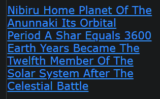 Nibiru Home Planet Of The Anunnaki Its Orbital Period A Shar Equals 3600 Earth Years Became The Twelfth Member Of The Solar System After The Celestial Battle